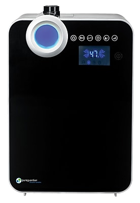 PureGuardian 90-Hour Elite Ultrasonic Warm and Cool Mist 1.32 Gallon Humidifier with Digital Smart Mist Sensor (H7560B) 24226554