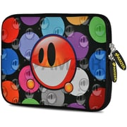 Amzer 10.5 Inch Designer Neoprene Sleeve Shock Absorbing Case Cover For Tablets, iPad, Kindle, Smiley Bubble (AMZ5050105)