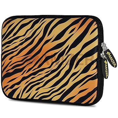 Amzer 10.5 Inch Designer Neoprene Sleeve Shock Absorbing Case Cover For Tablets, Ipad, Kindle, Zebra Sands (AMZ5001105)