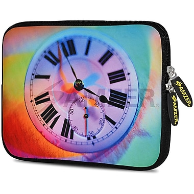 Amzer 10.5 Inch Designer Neoprene Sleeve Shock Absorbing Case Cover For Tablets, Ipad, Kindle, Roving Eye (AMZ5137105)