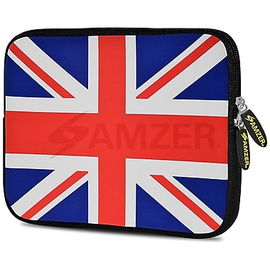 Amzer 10.5 Inch Designer Neoprene Sleeve Shock Absorbing Case Cover For Tablets, Ipad, Kindle, Union Jack (AMZ5245105)