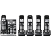 Panasonic KX-TGF575S Link2Cell Bluetooth Cordless Phone with Answering Machine and 5 Handsets