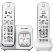 Panasonic KX-TGD532W Expandable Cordless Phone with Call Block and Answering Machine (2 Handsets)