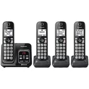 Panasonic KX-TGD564M Link2Cell Bluetooth Cordless Phone with Voice Assist and Answering Machine (4 Handsets)