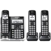 Panasonic KX-TGF573S Link2Cell Bluetooth Cordless Phone with Answering Machine (3 Handsets)