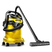Karcher WD5P Wet Dry Vacuum w/ Power Tool Outlet, 6.6 Gallon Tank, Yellow (WD5P)