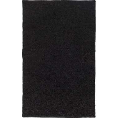 Surya Arlie Polypropylene 8' x 10' Black Rug (ARE9002-810)