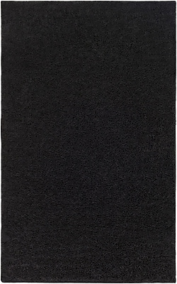 Surya Arlie Polypropylene 5' x 8' Black Rug (ARE9002-58)