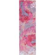 "Surya Felicity Polyester 2'6"" x 8' Runner Pink Rug (FCT8002-268)"
