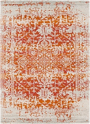 Surya Harput Polypropylene 2' x 3' Orange Rug (HAP1019-23)