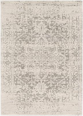Surya Harput Polypropylene 2' x 3' Black Rug (HAP1024-23)