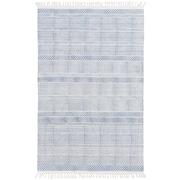 Surya Idina Cotton 4' x 6' Blue Rug (IDI8800-46)