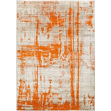 Surya Harput Polypropylene 3' x 5' Orange Rug (HAP1000-35)