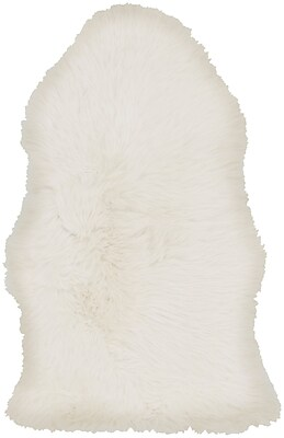 Surya Sheepskin Hair On Hide 2' x 3' Neutral Rug (SHS9600-23)