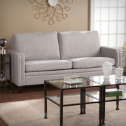 Southern Enterprises Norden Small Space Loveseat, Dove Gray (UP9882)