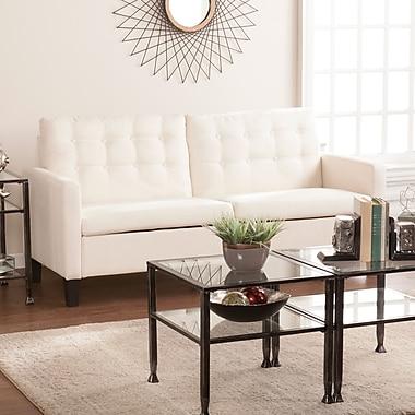 Southern Enterprises Mansfield Midcentury Modern Sofa, Oatmeal (UP9923)