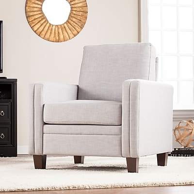 Southern Enterprises Norden Accent Chair, Dove Gray (UP9881)
