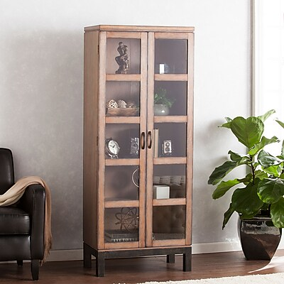 Southern Enterprises Captina Curio Storage & Display Cabinet (CM2901)