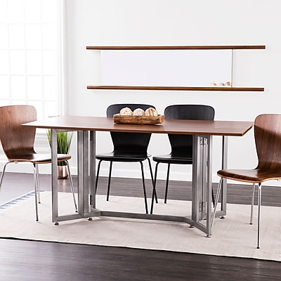 Southern Enterprises Holly & Martin Driness Drop Leaf Console to Dining Table (DN7442)