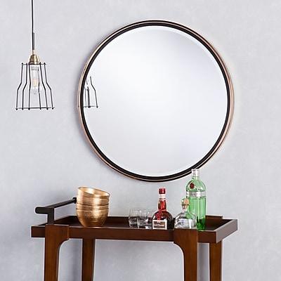 Southern Enterprises Holly & Martin Wais Round Wall Mirror (WS5467)