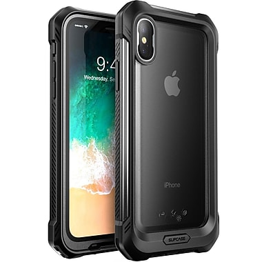 Supcase UB Storm Case for IPhone X, Frost/Black (S-IPHX-UBS-F/BK)