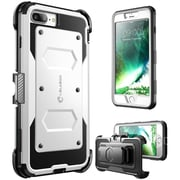 I-Blason ArmorBox Heavy Duty Case for IPhone 8 Plus, White (IPH8P-ARMOR-WH)
