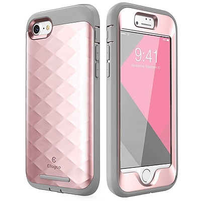 Clayco Hera Case for iPhone 8, Rose Gold (CL-IPH8-HERA-RG)