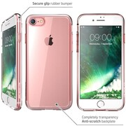 i-Blason Clear/Rose Gold Slim Case for iPhone 8 (IPH8-HALO-CR/RG)