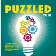 """2018 Turner Photographic 5"""" x 5"""" Puzzled Daily Box Calendar (18998970014)"""