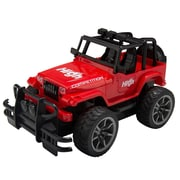 Remote Control Extreme Terrain Utility Vehicle Red Jeep Suv (TOYCAR002)