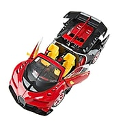 Remote Control Sports Car Super Racer Red Sporty Car 1:14 Scale (TOYCAR006)
