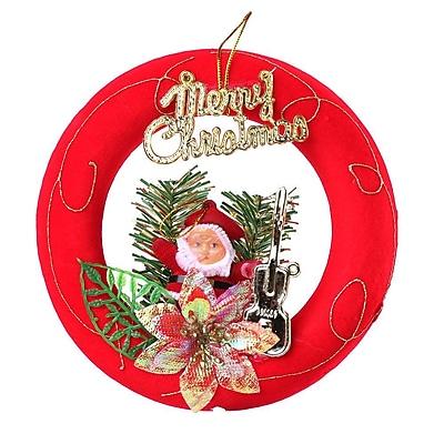 Red Santa Claus Christmas Ornament Merry Christmas (ORNSAC202)