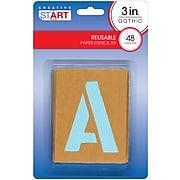 "Creative Start Cardboard Stencils 3""H 192 Count, Pack of 4 (098162PK4)"