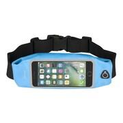 "Insten Waterproof Running Belt Waist Bag w/Touchscreen Window for iPhone 7 Plus Universal (Size: 6.5"" x 3.42"") - Blue"