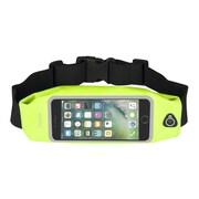 "Insten Waterproof Running Belt Waist Bag w/Touchscreen Window for iPhone 7 Plus Universal (Size: 6.5"" x 3.42"") - Yellow"