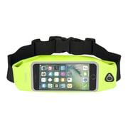 """Insten Waterproof Running Belt Waist Pouch Bag w/Touchscreen Window for iPhone 7 Universal(Size: 6.02"""" x 3.35"""") - Yellow"""