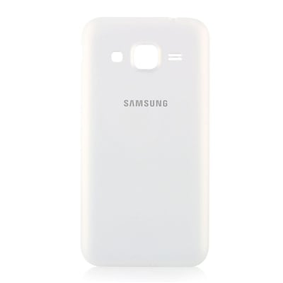 OEM Genuine Standard Battery Door Back Case for Samsung Galaxy Core Prime - White (Battery Not Included) (Refurbished)