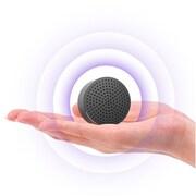 Cobble Pro Metallic Gray Mini Portable Bluetooth Wireless Aluminum Audio Speaker w/ Microphone for Smartphone MP3 Tablet