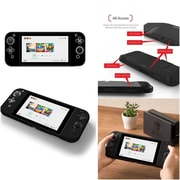 Insten Protective Silicone Skin Gel Cover Case For Nintendo Switch - Black