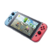 Insten Fully Protected Strong Durable 3 Part Design Clear Crystal Case for Nintendo Switch Console & Joy-Con