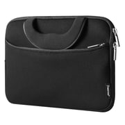 "Insten Shockproof Sleeve Pouch Zipper Carry Bag Protective Soft Case Cover for 10"" Notebook / Laptop / Tablet - Black"