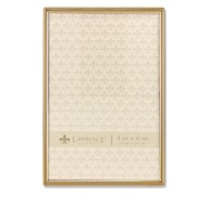 """Lawrence Frames 4""""W x 6""""H Simply Gold Metal Picture Frame (670046)"""