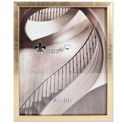 """Lawrence Frames 8""""W x 10""""H Chloe Contemporary Gold Picture Frame (708080)"""