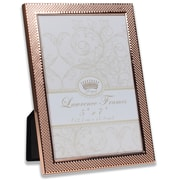 """Lawrence Frames 5""""W x 7""""H Fawn Pin Dot Pattern Copper Picture Frame (702557)"""