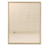 """Lawrence Frames 8.5""""W x 11""""H Simply Gold Metal Picture Frame (670081)"""