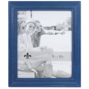 "Lawrence Frames 8""W x 10""H Durham Weathered Navy Blue Wood Picture Frame (746680)"