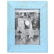 "Lawrence Frames 5""W x 7""H Sarasota Weathered Robins Egg Blue Wood Picture Frame (746157)"