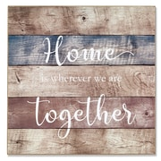 """Lawrence Frames  14""""W x 14""""H Wall Panel Sign - Home (645314)"""