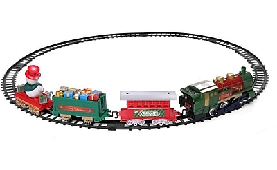Santa Clause Christmas Classic Train Track And
