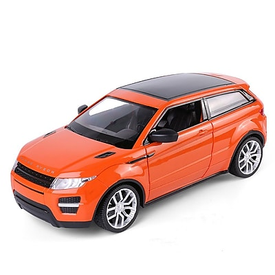 Red Rc Sports Car All-Terrain Utility Suv Coupe Remote Control Cars Classic Scale 1:14 With Sound Flash Light (TOYCAR115)